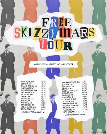 The Free Skizzy Mars Tour with Yoshi Flower, Grady: Main Image
